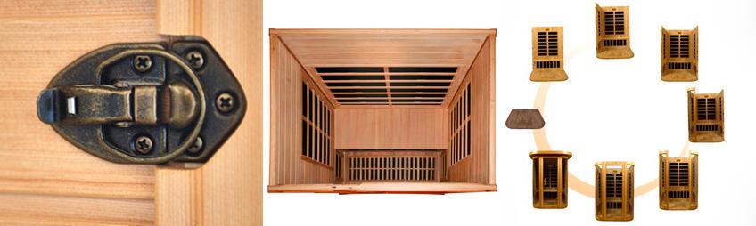 Montering af infrarød sauna