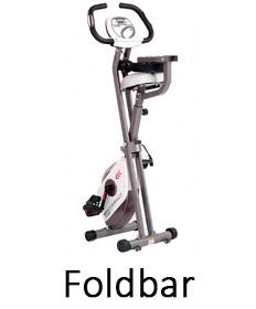 Foldbar motionscykel