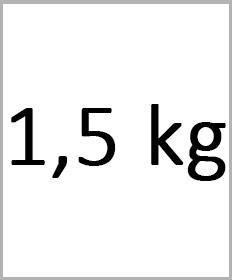 Håndledsvægte 1,5kg
