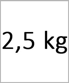 Håndledsvægte 2,5kg