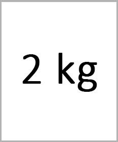 Håndledsvægte 2kg