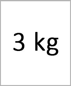 Håndledsvægte 3kg