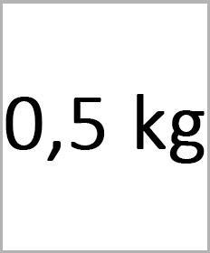 Håndledsvægte 0,5kg