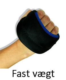 Håndledsvægte Fast vægt