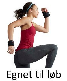 Håndledsvægte egnet til løb