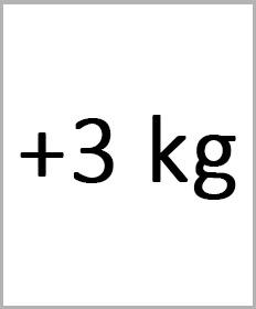 Håndledsvægte +3kg