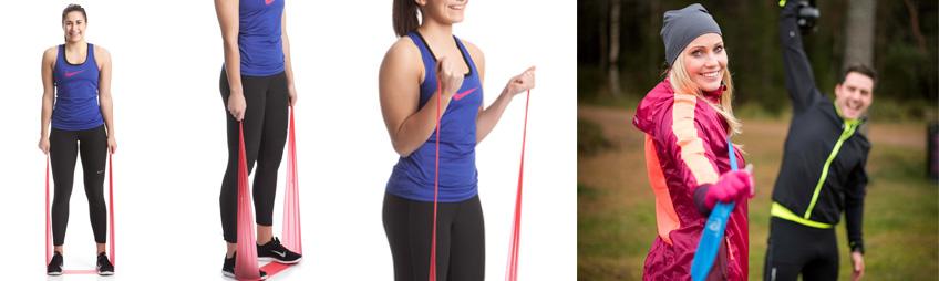 elastikbånd øvelse